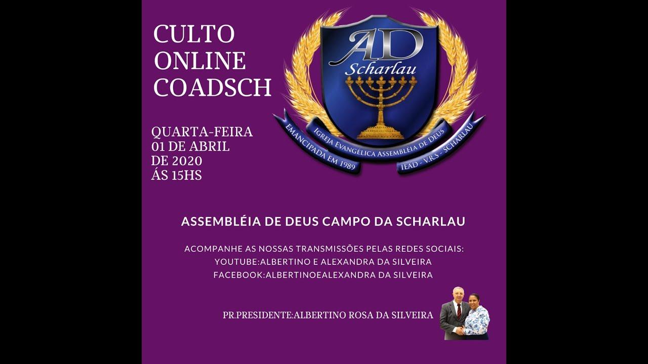 Download Culto ONLINE 01/04/2020 Circulo de Oração