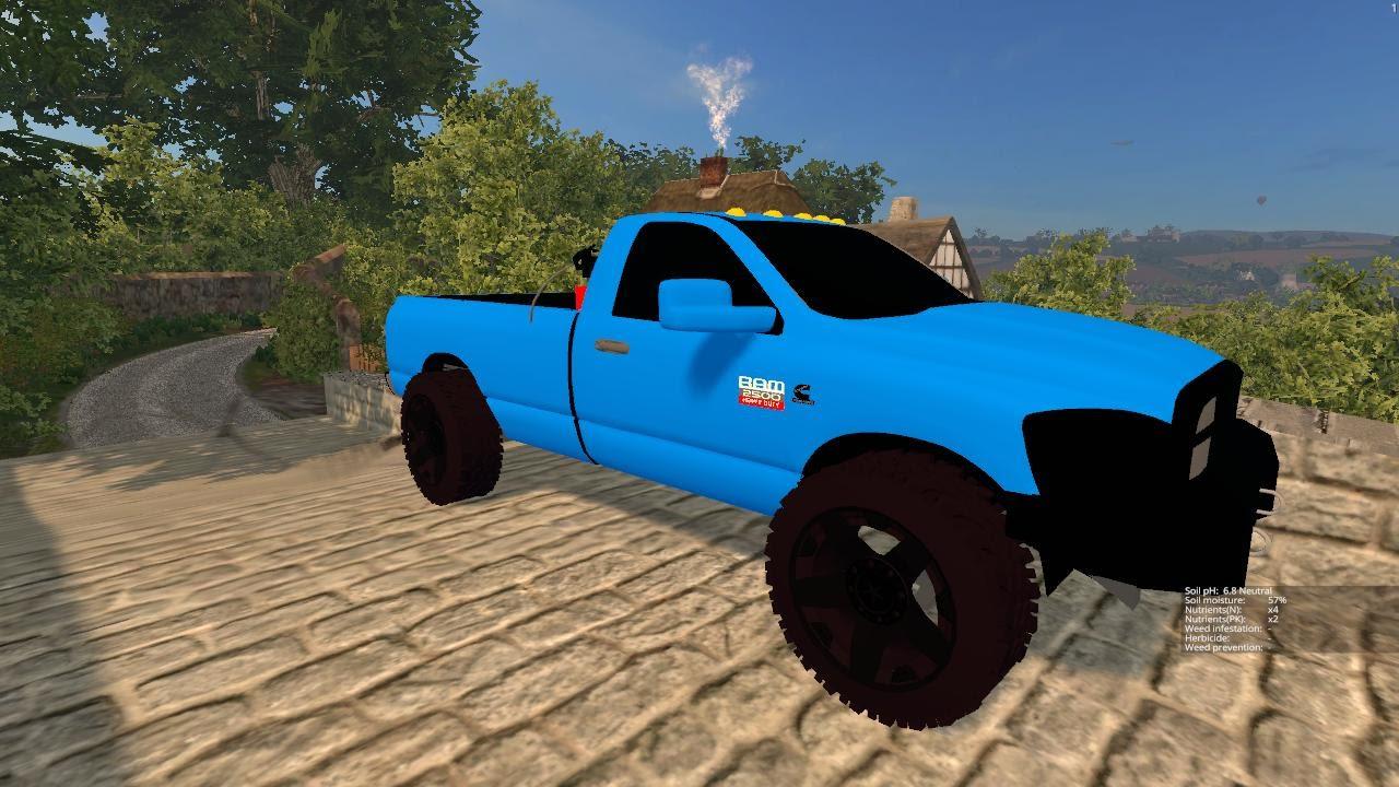 Farming Simulator 2015 Mods- Dodge Ram 2500 Cummins Turbo Diesel