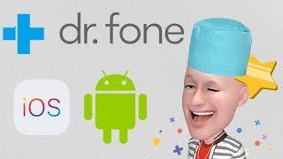 Dr.Fone - восстановление удаленных файлов на iOS и Android!