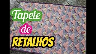 PASSO A PASSO TAPETE DE RETALHOS