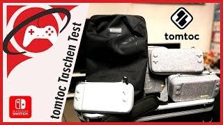 Das BESTE für EURE Switch! - Alle tomtoc Taschen im großen Test