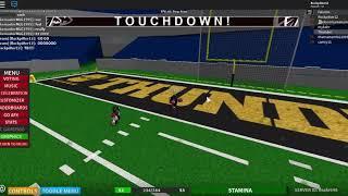 Mon premier match de football enregistré!!! Roblox NFL 2.5 (11v11)