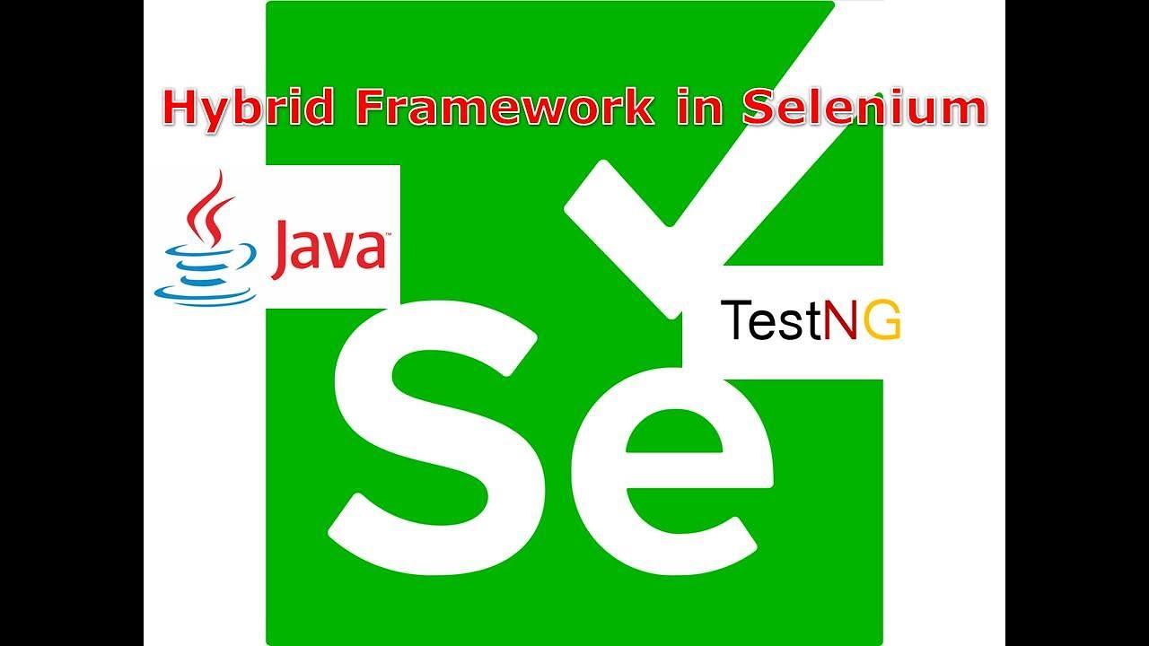 Download Hybrid Framework in Selenium |Selenium Automation Framework | By NagaRaju | G C Reddy Technologies |
