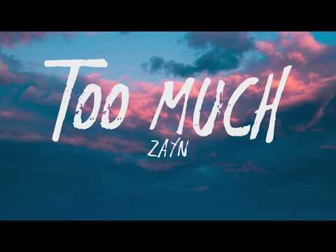 ZAYN - Too Much Ft. Timbaland (Lyrics)
