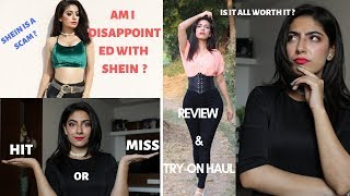 IS SHEIN WORTH YOUR MONEY ? SCAM OR LEGIT ? | REVIEW + TRY- ON HAUL INDIA