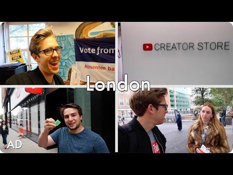 Exploring SOAS University of London and YouTube Space London! | Evan Edinger Travel | #ad
