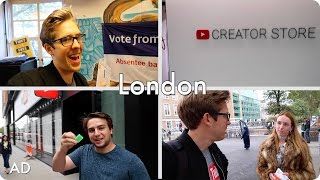 Exploring SOAS University of London and YouTube Space London! | Evan Edinger Travel | #ad