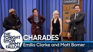 Download Charades with Emilia Clarke and Matt Bomer Mp3 and Videos