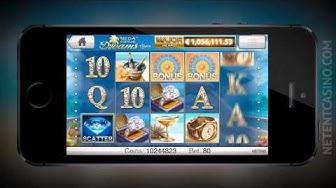 Mega Fortune Dreams Touch Video Slot by Netent Casino (Net Entertainment software)