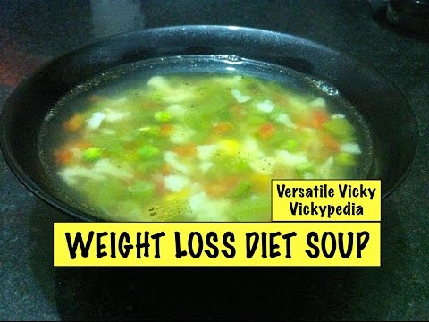 Lose Weight Fast with Weight Loss Diet Soup Veg