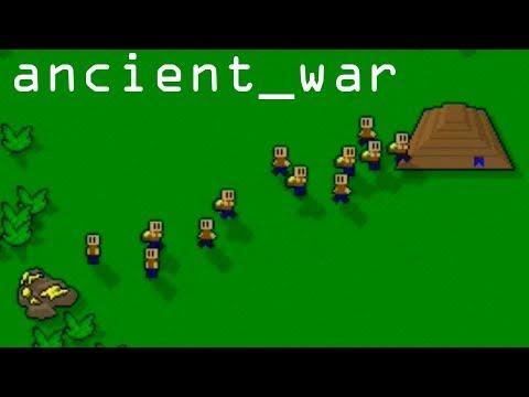 Ancient War Древняя война мини игра Pixel