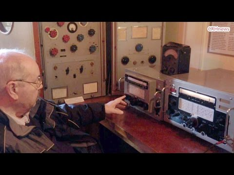 CRHnews - Marconi Marine sparks Alan  back on watch in radio room
