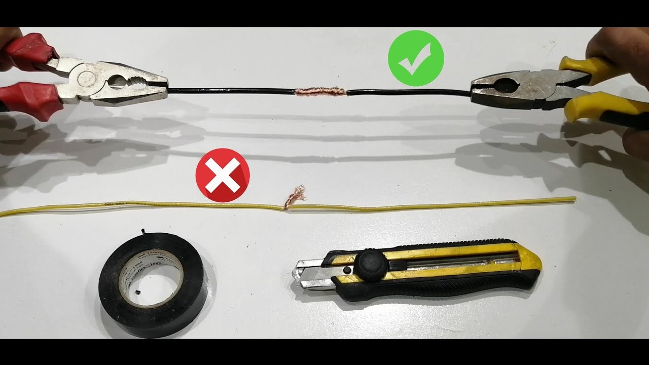 Awesome Ldea How To Twist Electric Wire Together Properly