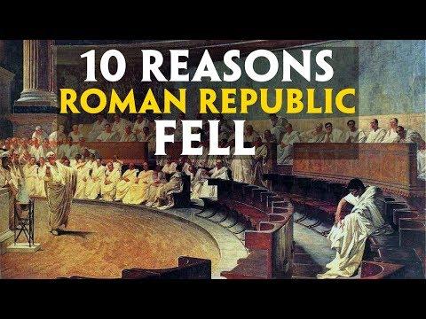 Top 10 Reasons Roman Republic Fell