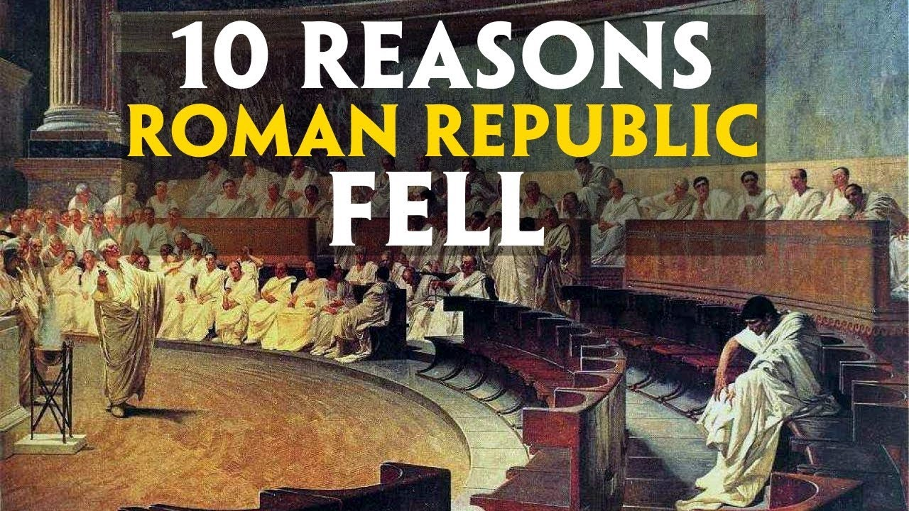 the reasons that contribute to the fall of rome Transcript of the top 10 reasons for the fall of rome #10lead poisoning since  they were constantly consuming lead in wine and in other.