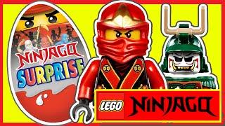 ЛЕГО НИНДЗЯГО. Киндер сюрпризы. Игрушки. LEGO NINJAGO. Мастера Кружитцу. Мультик. Минифигурки