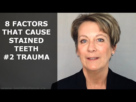 #2 Trauma - 8 Factors That Cause Stained Teeth