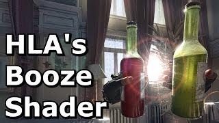 Half-Life Alyx Update - The Booze Shader