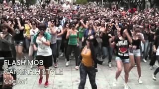 DANCE FLASH MOB GANGNAM STYLE Cagliari 20/10/12