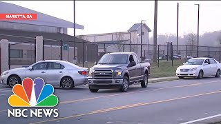 Atlanta Opens Drive-Through Coronavirus Testing Sites | NBC News NOW