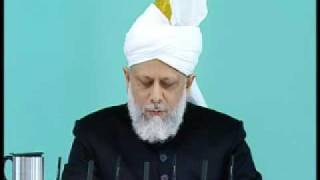 Friday Sermon: 15th May 2009 - Part 2 (Urdu)
