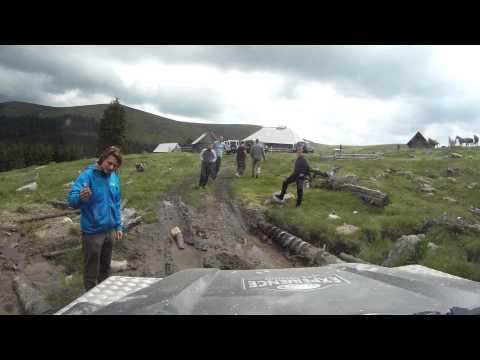 Transylvania offroad - Romania day 3 - Land rover Club Slovenia