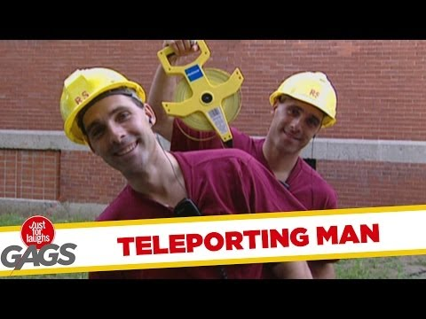 Teleporting Worker Gag