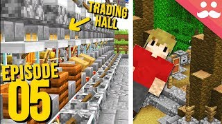 Hermitcraft 7: Episode 5 - Trading and INITIATION!