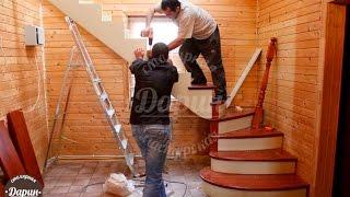 Лестницы на второй этаж в частном доме.(Заходите на сайт: http://lestnici-darin.ru отделка лестницы на второй этаж фото. лестница в квартире на второй этаж...., 2015-10-28T07:00:50.000Z)