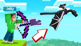 I Found A BOW That SPAWNS ENDER DRAGONS! (Minecraft)