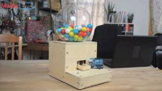 Secret Knock Gumball Machine On Make: Live Ep01