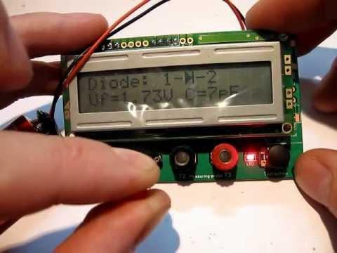 Измеритель емкости и ЭПС конденсаторов. ESR meter. - YouTube