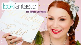 *SPOILER* LOOK FANTASTIC SEPTEMBER 2019 SUBSCRIPTION UNBOXING + FREE BOX OFFER