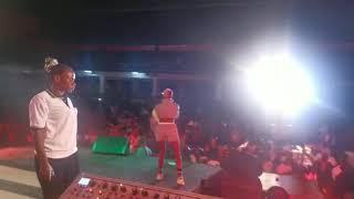 Jowy Landa's performance at Johnblaq's Ayabas concert at Freedom city