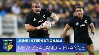 2018 June Test Series:  Third Test – New Zealand v France