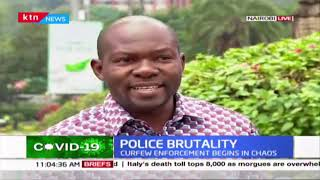 Section of lawmakers express disappointment in yesterdays Police brutality incidences