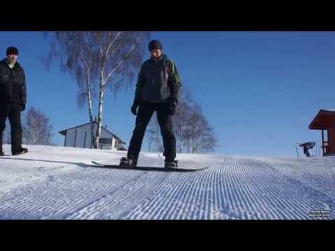 Видеоурок для начинающих сноуборд