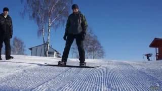 Сноуборд, обучение катанию для  начинающих. 1.  Упражнения, правильное выполнение.