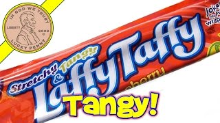 Wonka Laffy Taffy, Stretchy & Tangy Cherry Flavor - USA Candy Tasting