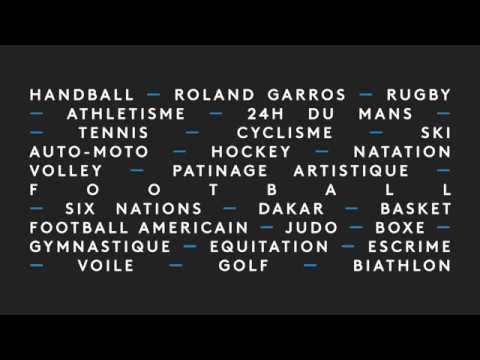 france•tv sport - Compilation de génériques (Juillet 2018)