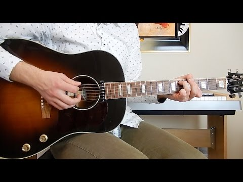 The Beatles - Ask Me Why - Guitar Cover - Gibson J-160E