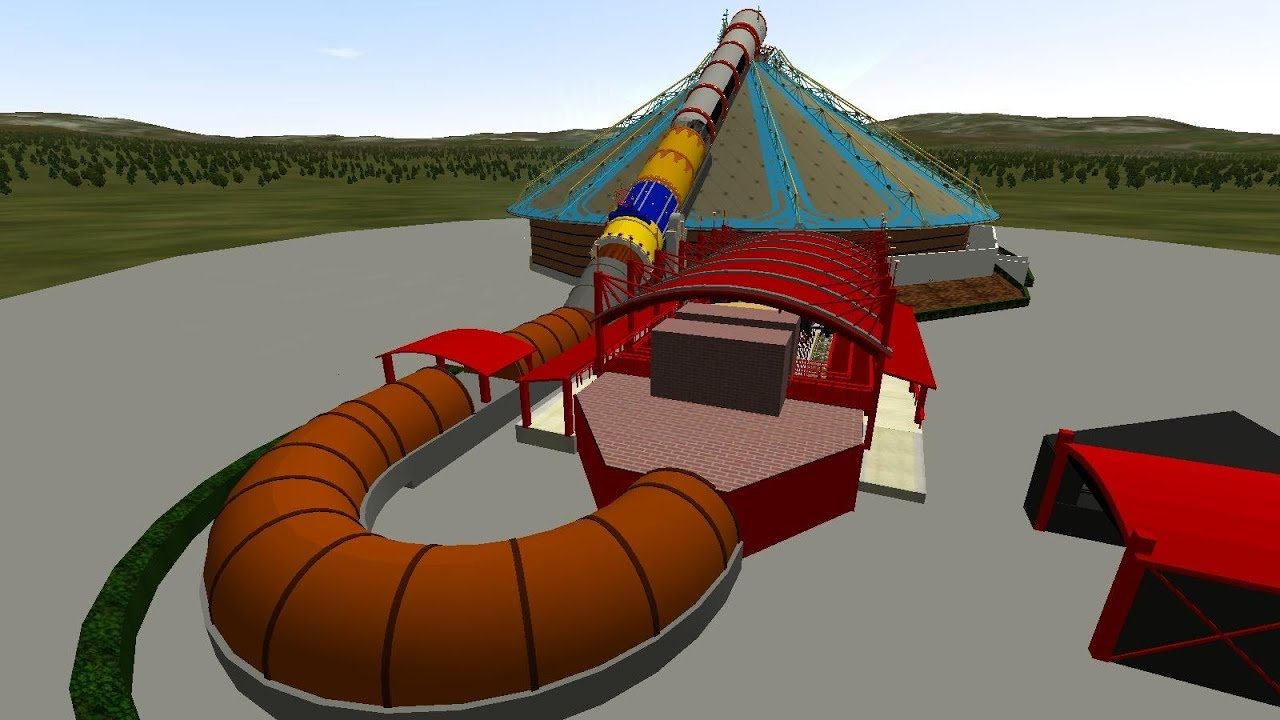 NoLimits 2 Space Mountain Mission 2 (with SOUNDTRACK ...