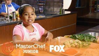 The Junior Chefs Prepare Their Family Dishes | Season 5 Ep. 11 | MASTERCHEF JUNIOR