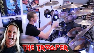 Iron Maiden - The Trooper (COVER ON NICKO's KIT!)