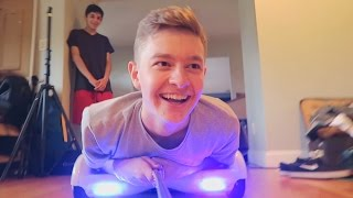 HOVERBOARD AT THE FAZE HOUSE