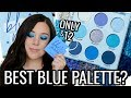 FINALLY! COLOURPOP BLUE MOON EYESHADOW PALETTE REVIEW & TUTORIAL!