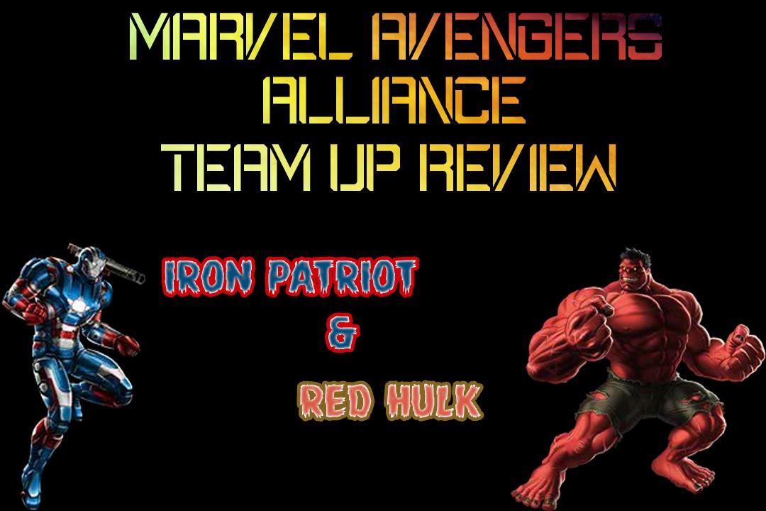 Marvel Avengers Alliance : Red Hulk & Iron Patriot Team-up ...