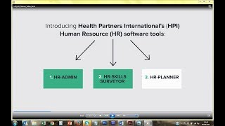 Health partners international (hpi) has developed a sophisticated suite of software that equips government departments and facilities with data informati...