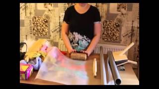 Инструменты для валяния из шерсти.  Видео для начинающих валять