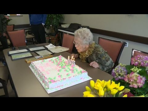 Never too old to party: Alberta woman turns 105-years-old